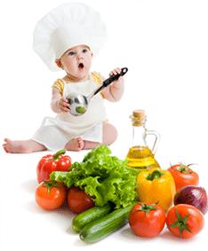 dziecko kucharz