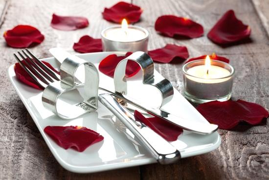 romantyczna aranżacja