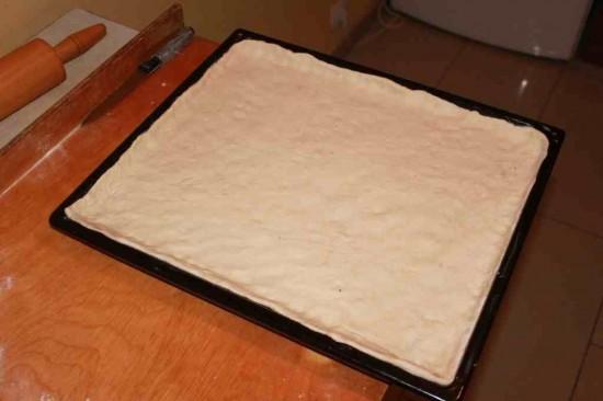 ciasto na pizze na blaszce