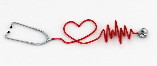 stetoskop w kształcie serca