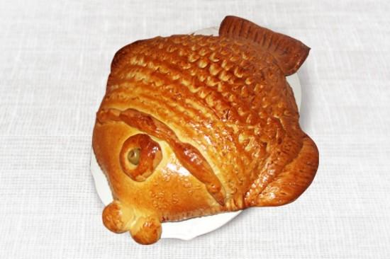 świateczna ryba w cieście