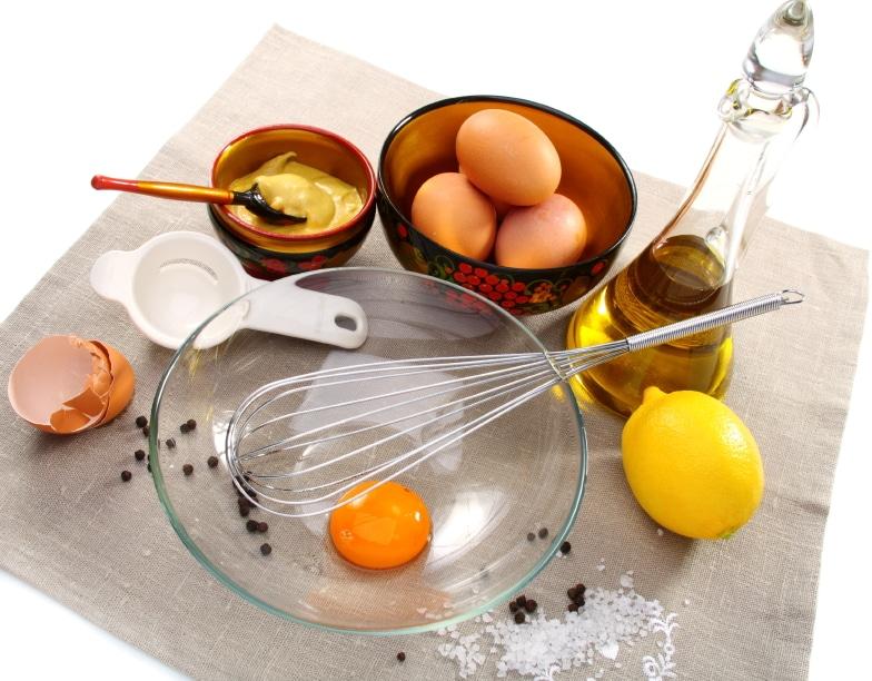 produkty do zrobienia majonezu