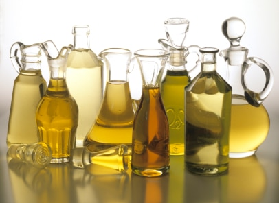olej rzepakowy w butelkach