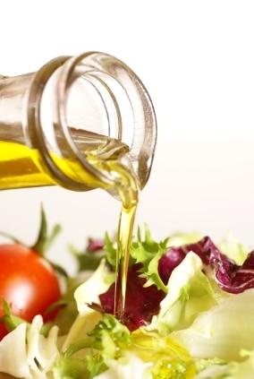 olej rzepakowy w sałatce