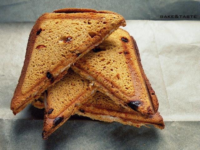 tosty z chleba żytniego