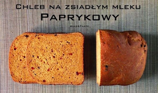 paprykowy chleb żytni na zsiadłym mleku