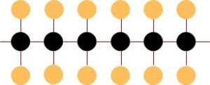 cząsteczka kwasu nasyconego